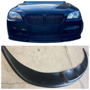 Front Spoiler Splitter for BMW 7 F01 F02 F03 F04 08-15 v2 ABS matt