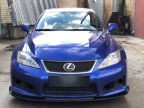 Front Spoiler Splitter for Lexus IS-F XE20 2005-2013