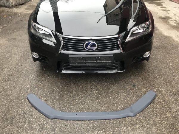 Front Spoiler Splitter for Lexus GS MK4 L10 SE Front Bumper GRP