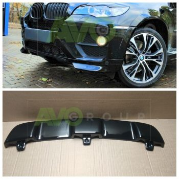 Front bumper Spoiler Splitters for BMW X6 E71 E72 07-14 ABS Gloss